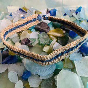 6/$16 NWOT Hemp macrame necklace